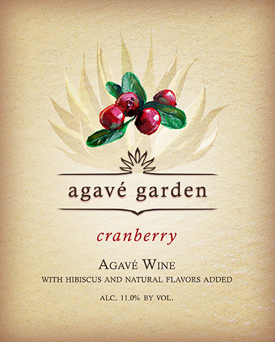 Agave Garden Cranberry